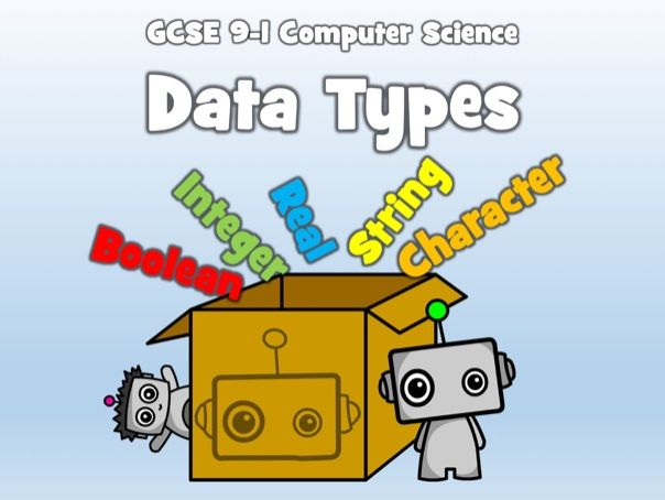 GCSE 9-1 Computer Science: Algorithm Design - Data Types