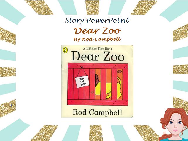 Dear Zoo - Story PowerPoint