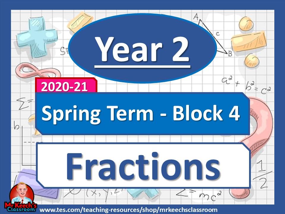 Year 2 - Fractions- Spring Block 4 - White Rose Maths