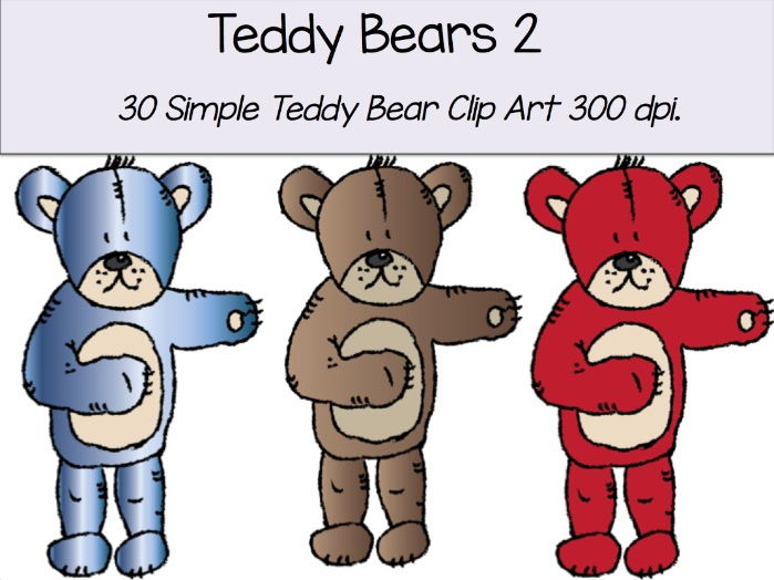 Simple Teddy Bear 2