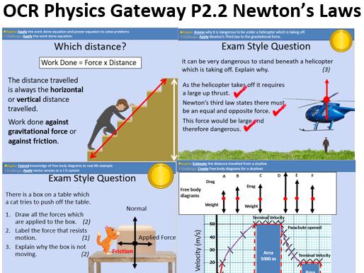 GCSE OCR Physics: P2.2 Newton's Laws