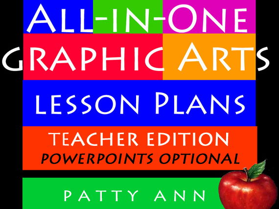 Graphic Arts Lesson Plans All-in-One ~ Complete Curriculm (Book Only)