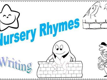 Nursery Rhymes Missing Words Set 1
