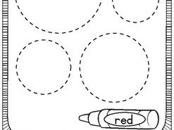 Shapes and colors activity for kid