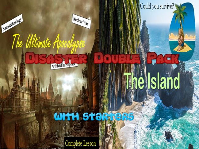 Disaster Double Lesson Pack with Starters