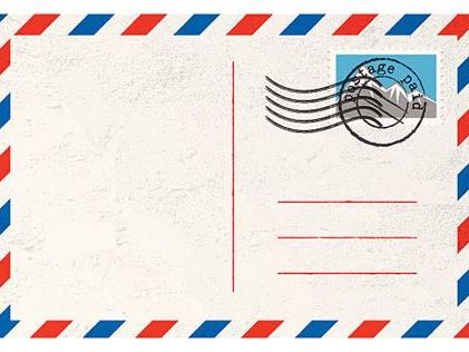 Postcard Planning Sheet