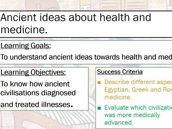 Medicine Through Time: Ancient Medicine