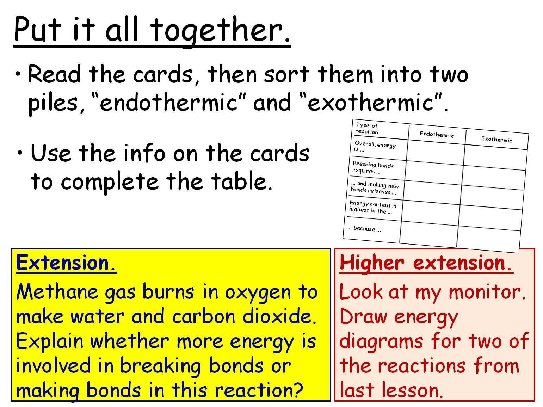 Rates of Reaction and Energy Changes: 5 GCSE Chemistry Lessons. Edexcel 9-1 Topics CC14 CC15 SC18 SC19