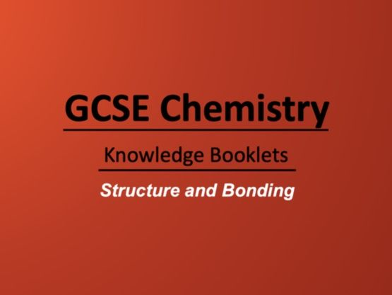 Structure and Bonding Knowledge Booklet