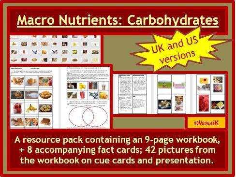 Macro Nutrients Carbohydrates
