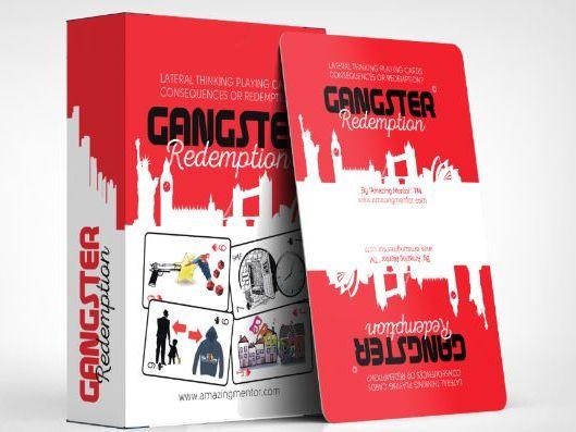 Anger Management Gangster Redemption SAMPLE Playing Cards