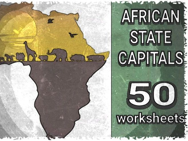 AFRICAN STATE CAPITALS