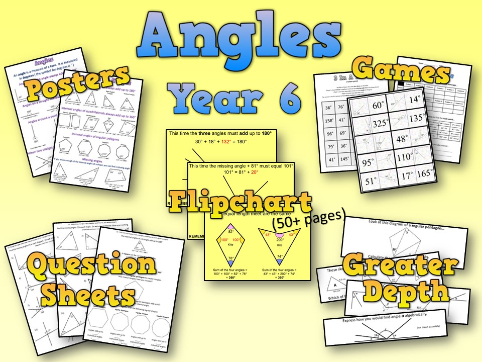 Year 6 Angles Resource Pack