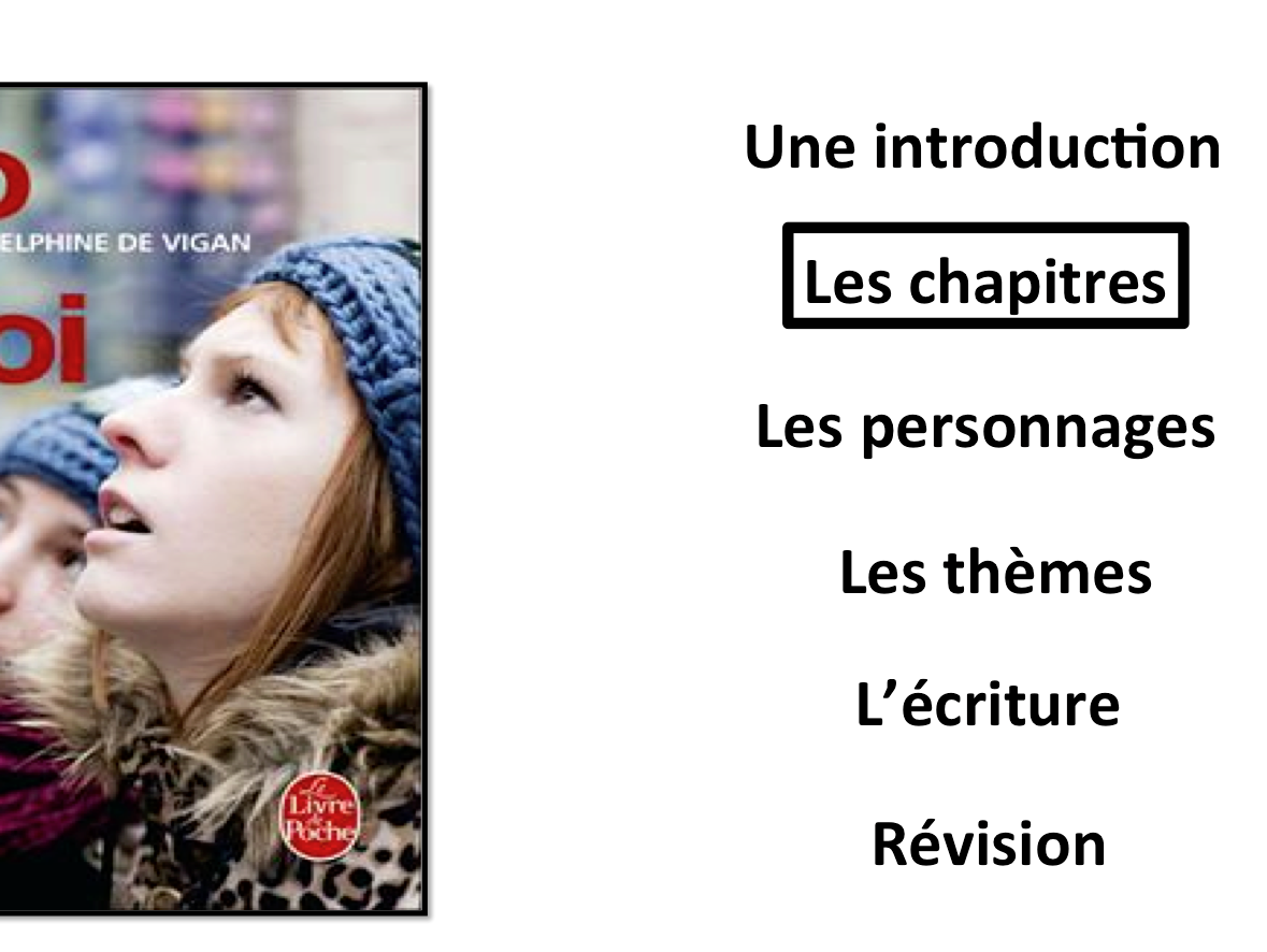 No et Moi- Worksheets to Study Chapters