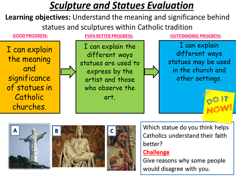 Sculptures and Statues - Forms of Expression and Ways of Life