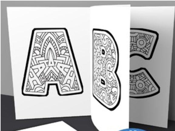 Kids Alphabet Coloring Book Pages Printable Pdf