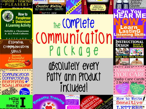 ORAL CoMmUnIcAtiOn, WRITTEN & LANGUAGE Arts Skills Complete Curricula Bundle!