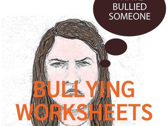 Bullying Worksheets (US)