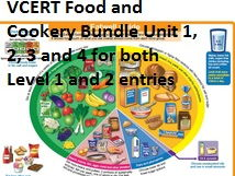 VCERT Food and Cookery LEVEL 1 and 2 ALL UNITS