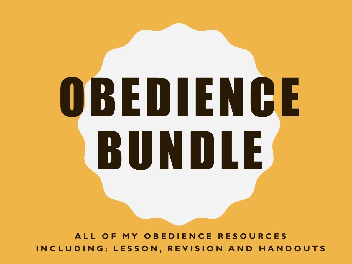 Obedience Bundle