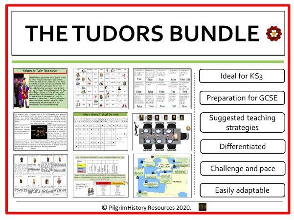 Tudors Complete Bundle