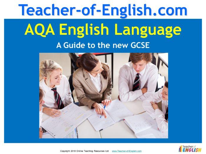 An Introduction to 9-1 AQA GCSE English Language