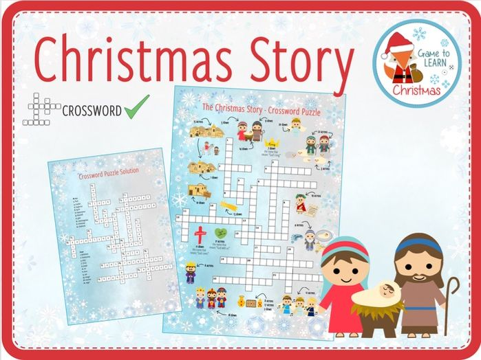 Christmas Story - Crossword Puzzle
