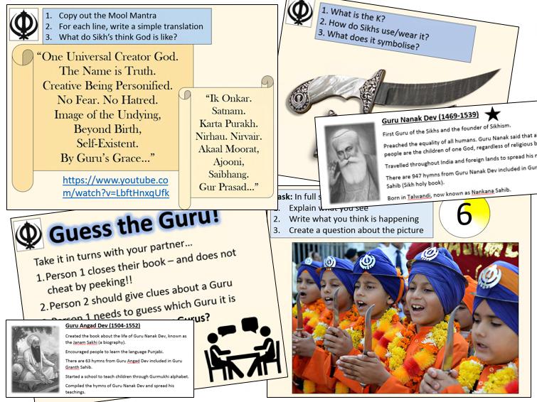 KS2 / KS3 Sikhism - Complete unit of work!