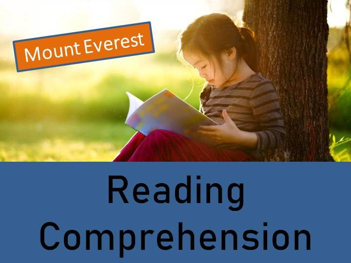 Mount Everest Reading Comprehension Activity