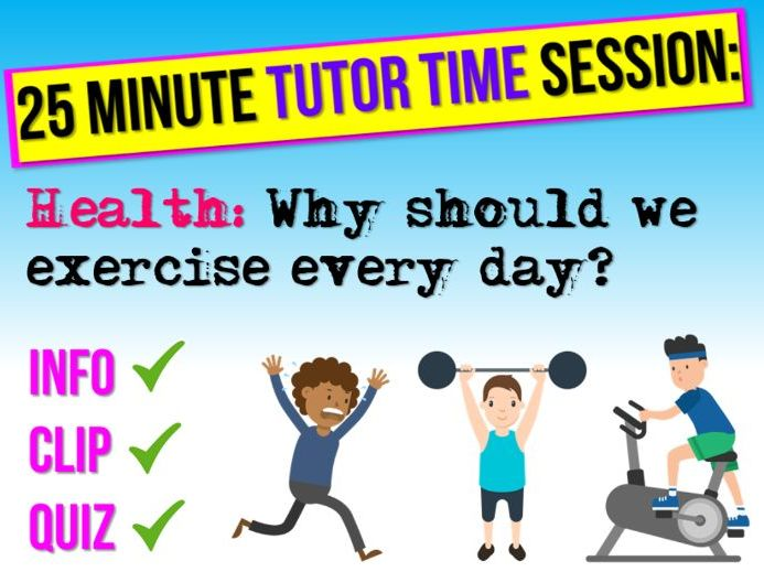 Exercise - Tutor Time