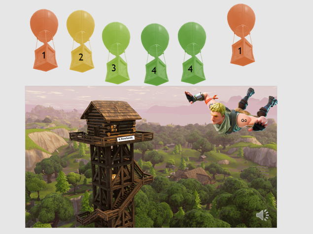 Fortnite Resource designed for Low Ability KS3 Maths Learners, Tally, Averages, Bar Charts