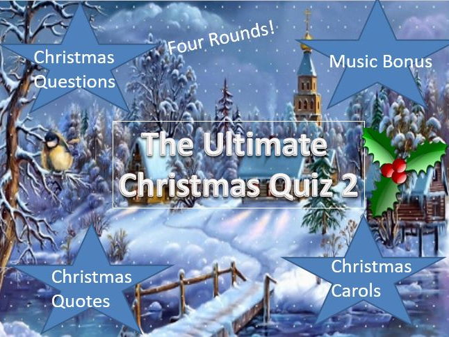 The Ultimate Christmas Quiz 2