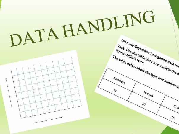 Data handling - bar graph practice