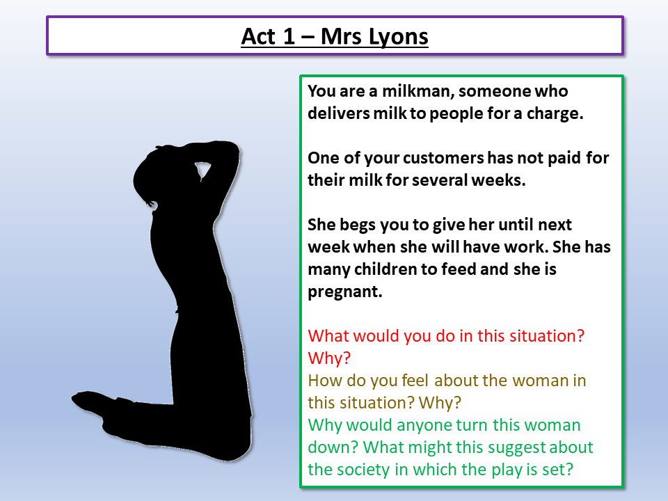 Blood Brothers Mrs Lyons Introduction by Lead_Practitioner   Teaching Resources