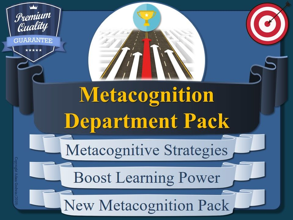 Departmental Improvement Pack (Metacognition)