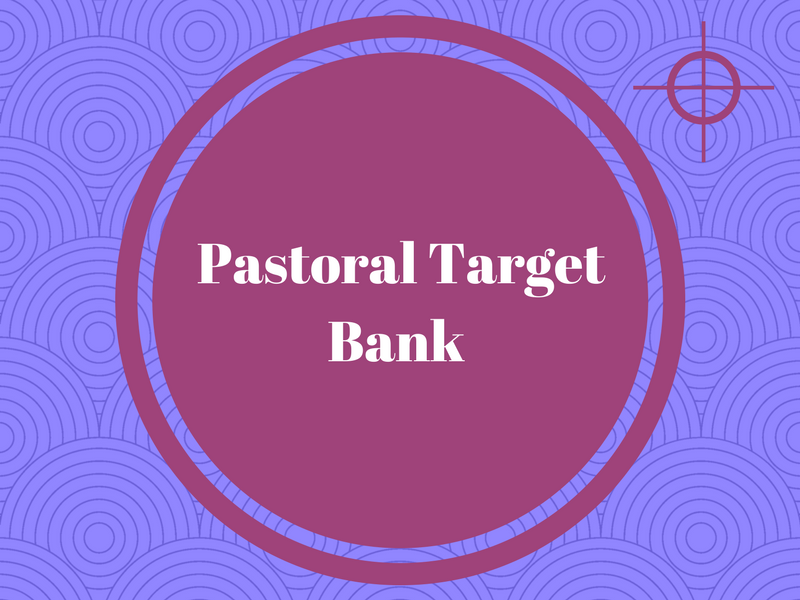 Pastoral Target Bank - Target Bank for Soft Skills, Study Skills and Behaviour