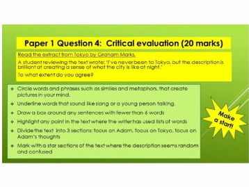 AQA Language Paper 1 Question 4 - Tokyo