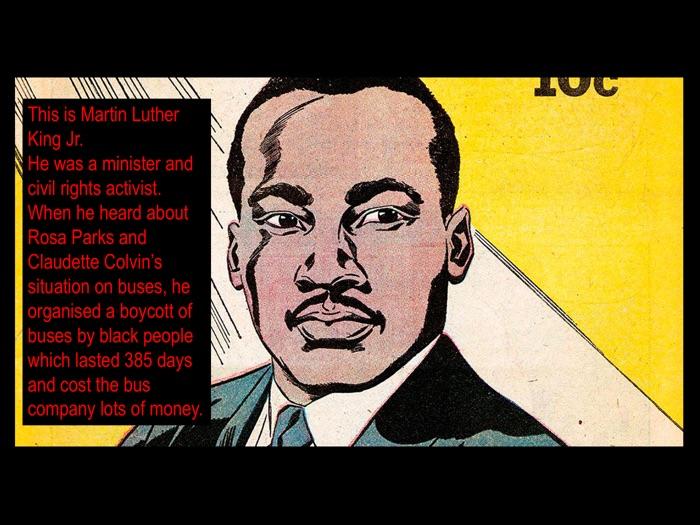 Black History of American: slavery, civil war, segregation and civil rights.