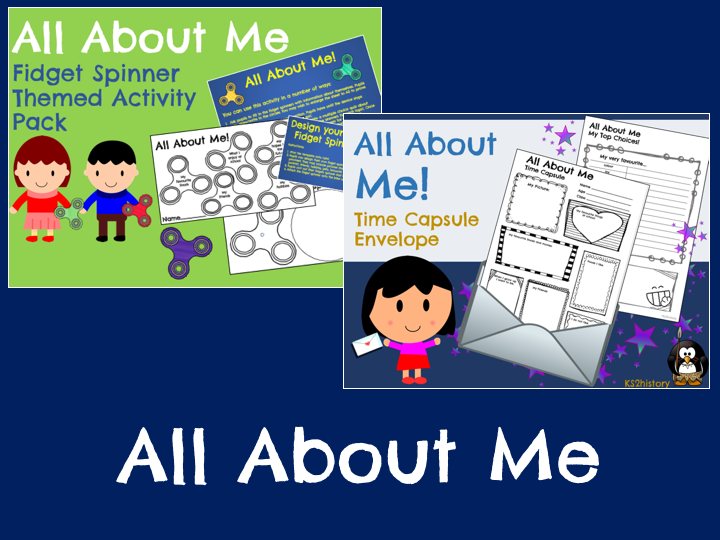 All About Me Activities (Back to School)