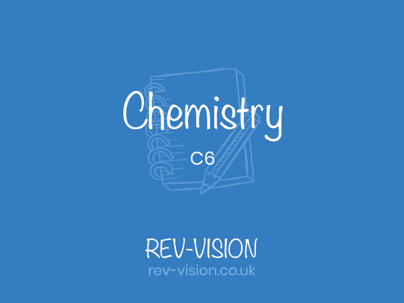 GCSE C6 Chemistry Global Challenges Revision Hand made notes