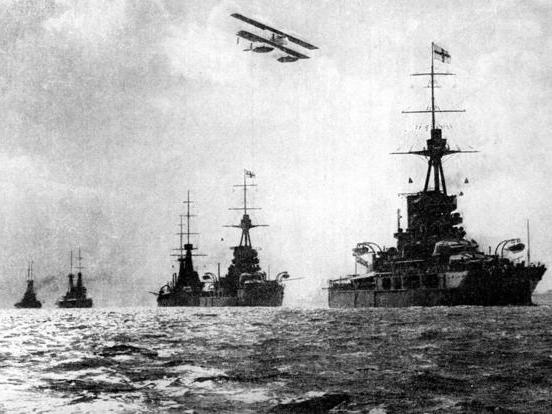 The War at Sea during World War One