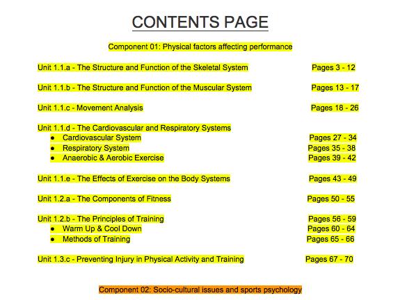 OCR GCSE PE (2016) Revision Book