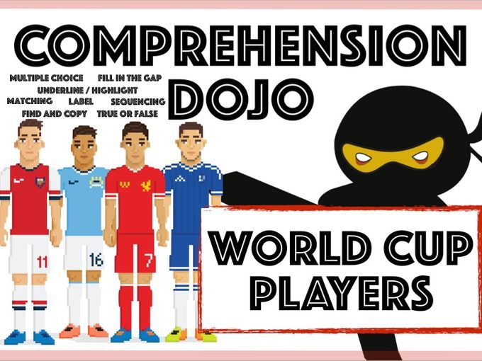 Comprehension Dojo - World Cup Players