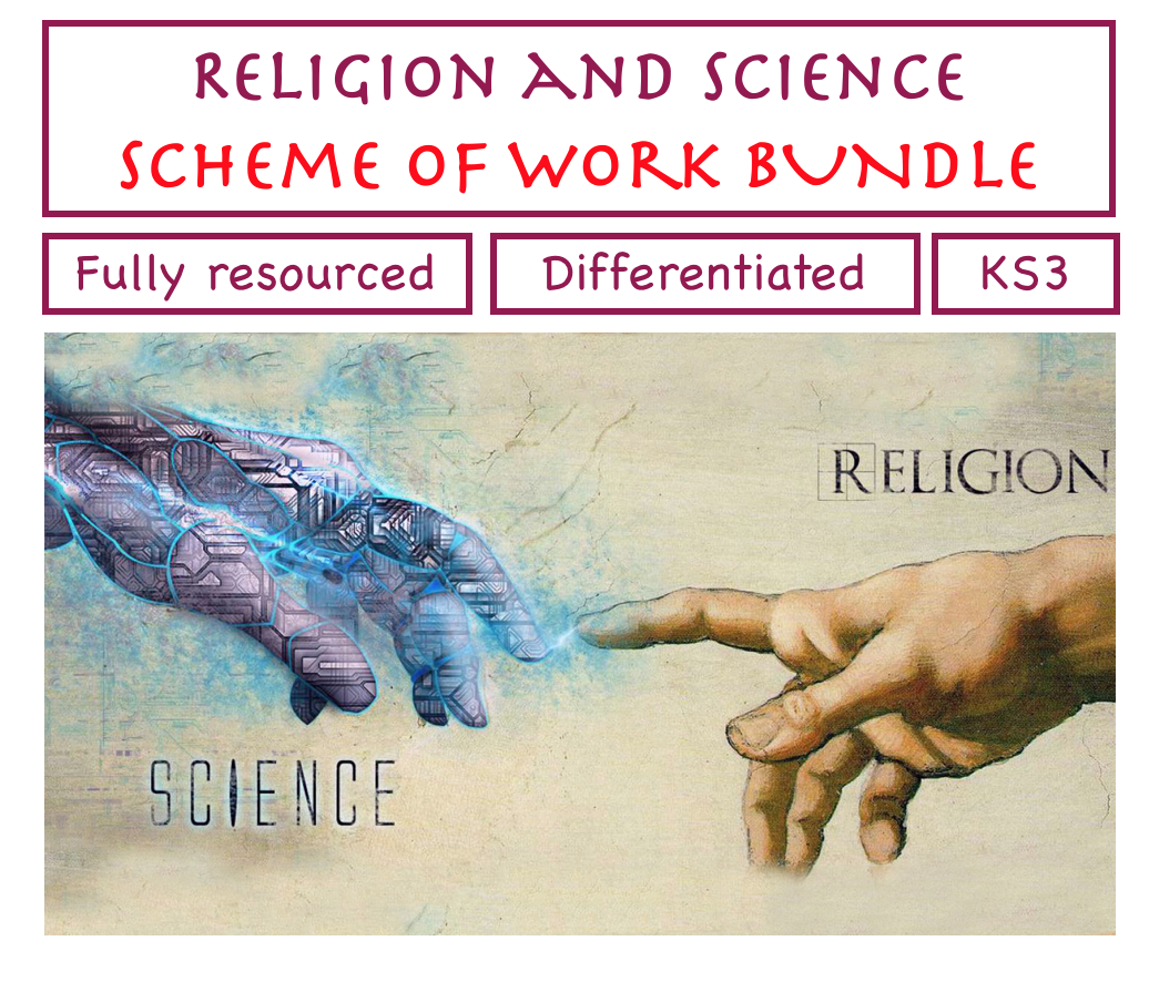 Religion and Science SOW BUNDLE!