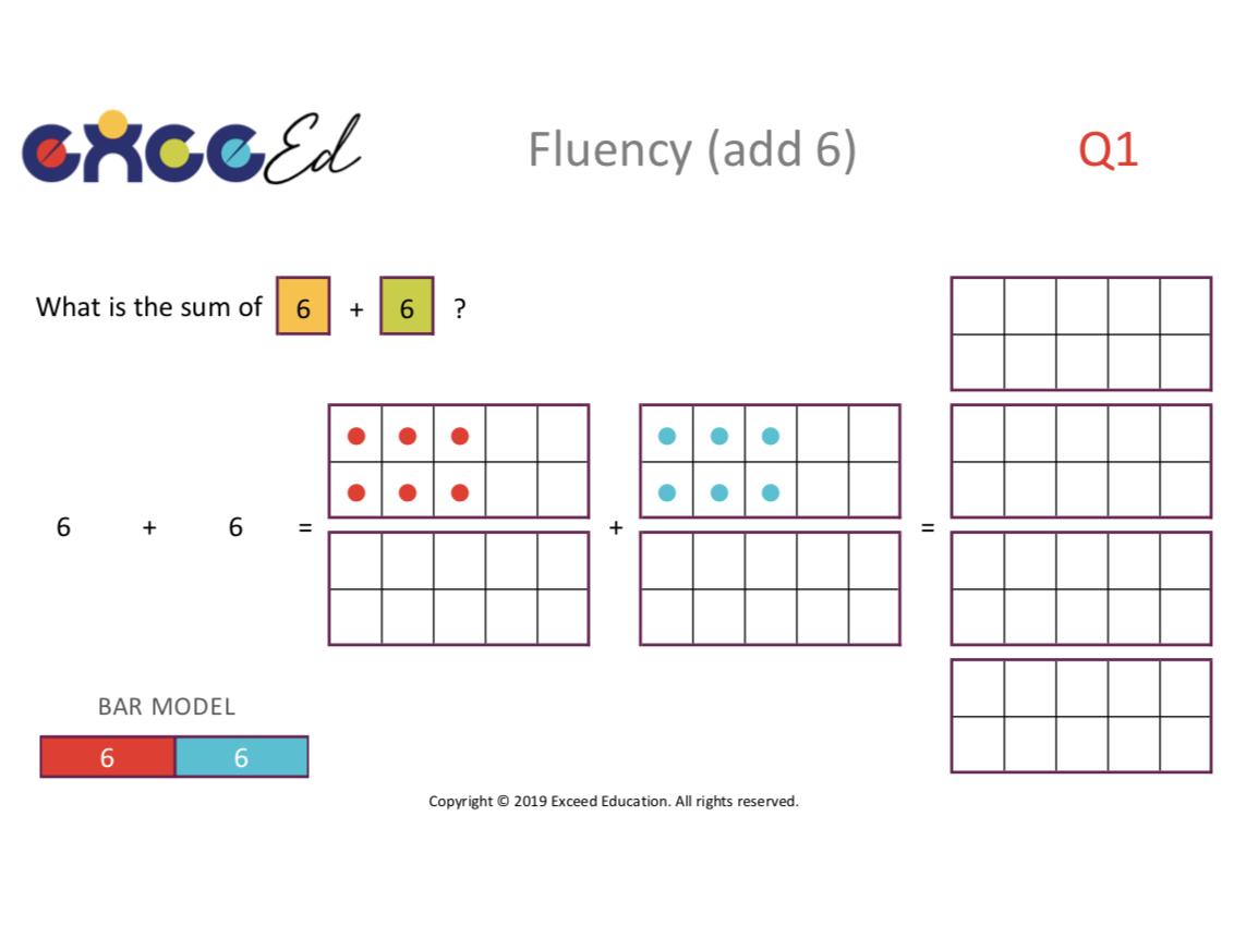 Fluency: Bridging with Tens Frame (Full Pack)
