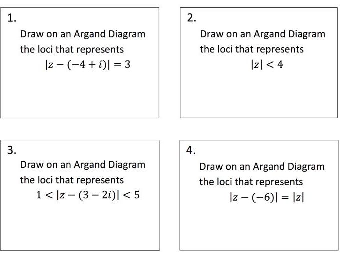 Argand Diagrams Relay