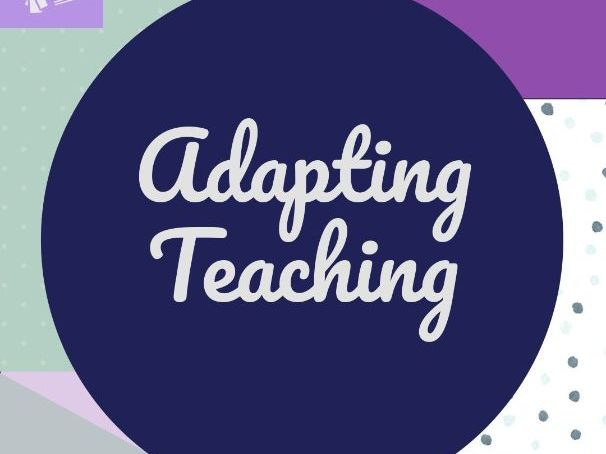 TS5 Adapting Teaching CPD Resources