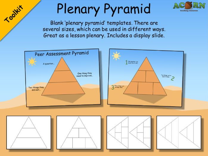 Plenary Pyramid templates