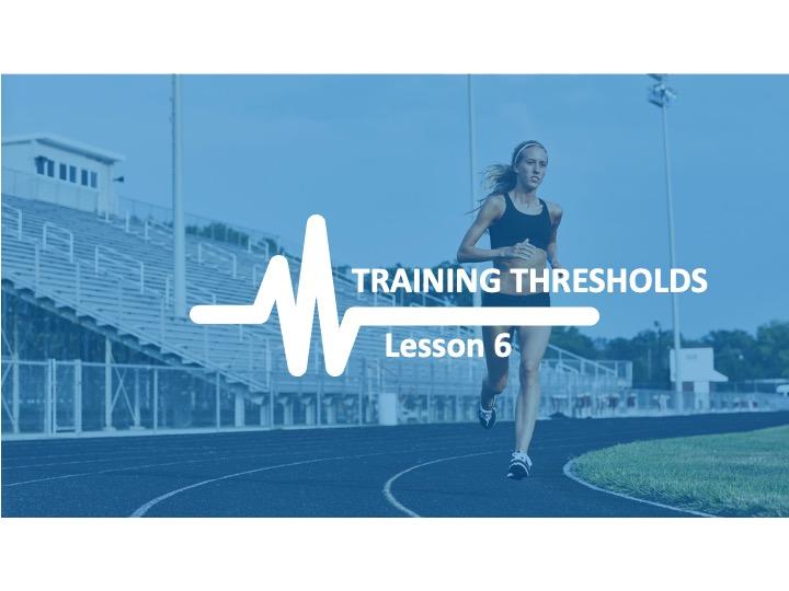 AQA GCSE PE Physical Training - Lesson 6 Training Thresholds