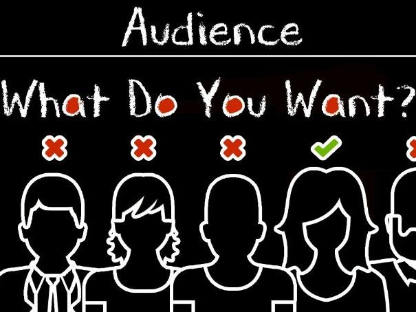 GCSE Media studies audience theory lessons